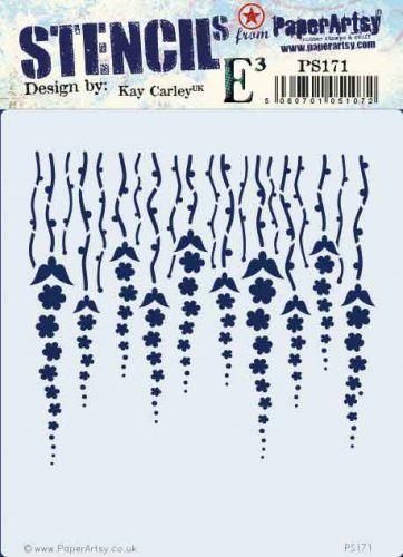 Kay Carley PaperArtsy Stencil (PS171)