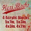 PaperArtsy Flexi Acrylic Blocks