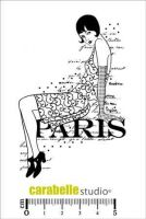 Paris (SA70128) Cling Stamp A7 - Carabelle Studio