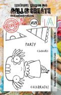 Party with me Aall and Create A7 Stamp Janet Klein 379 (AAL00379)