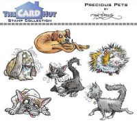 Precious Pets a6 clear stamp set from Card Hut