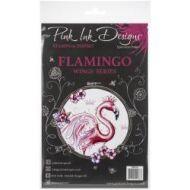Pink Ink Design A5 Clear Stamp Set - Flamingo