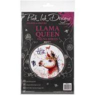 Pink Ink Design A5 Clear Stamp Set - Llama Queen