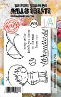 No. 314 Play Ball Aall and Create A7 Stamp