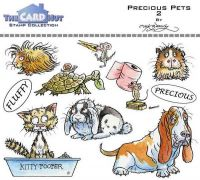Precious Pets 2 a6 clear stamp set from Card Hut