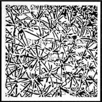 Prickly 6 inch by 6 inch Stencil (S351) by Daniella Woolf for Stencil Girl