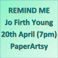 Remind me - 20th April Jo Firth Young - New Release