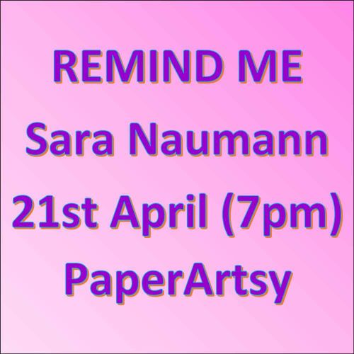 Remind me - 21st April Sara Naumann - New Release