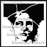 Romance Face 6 inch by 6 inch Stencil (S652) by Pam Carriker for StencilGirl