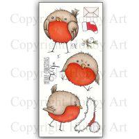Round Robins Hobby Art Clear Stamp Set CS142D