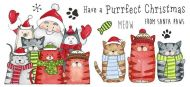 CS223D Hobby Art Stamps - Santa Paws