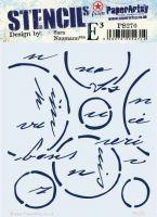 Sara Naumann 270 Regular Stencil (PS270) for PaperArtsy