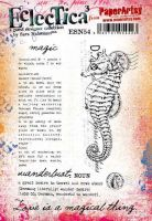 Sara Naumann 54 A5 Cling Rubber Stamp Set (ESN54) for PaperArtsy