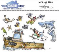 Life At Sea a6 clear stamp set from Card Hut