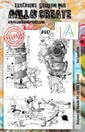 Sea Essentials No. 442 Aall and Create A5 sized stamp by Bipasha BK (AAL00442)