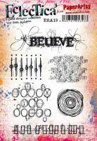 Seth Apter ESA18 PaperArtsy a5 cling rubber stamp set