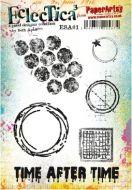 Seth Apter 01 (ESA01) A5 Cling Rubber stamp set