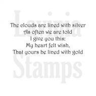 Silver Lining Lavinia Stamps (LAV347)
