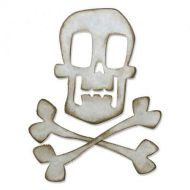 Sizzix Bigz Skull and Crossbones by Tim Holtz - UK ONLY