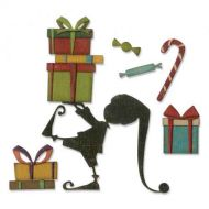 Santas Helper - Tim Holtz - Sizzix Thinlets Die - 664192
