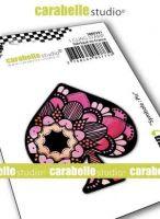 Spade Symbol Small Cling Stamp Carabelle Studio (smi0291)