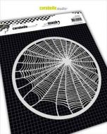 Spider Web (MARO60007) Mask Round 6'' - Carabelle Studio