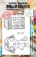 Stay Chic No. 420 Aall and Create A7 sized stamp by Janet Klein (AAL00420)