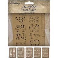 Expected approx 23 April Stencil Cards Tim Holtz Idea-Ology 5 Pk (TH94135)