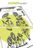 Sunflowers Cling Stamp A6 for Carabelle Studio by Azoline (sa60519)