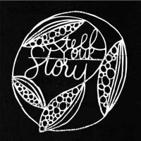 Tell Your Story 4 inch by 4 inch Stencil (M131) by Maria McGuire for StencilGirl
