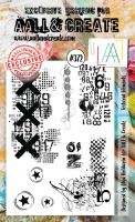 Textural Elements Aall and Create A6 Stamp Olga Heldwein 372 (AAL00372)