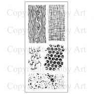 CS117D Hobby Art Stamps - Textures