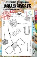 No. 272 Thankful Petals Aall and Create A5 Stamp