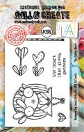No. 298 The Giving Heart Aall and Create A7 Stamp