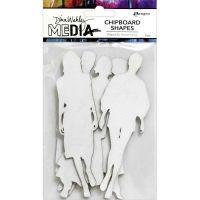 The Women - Dina Wakley Media Chipboard Shapes (MDA74984)