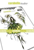 The fairy Seringa Cling Stamp A6 for Carabelle Studio by Soizic (sa60514)