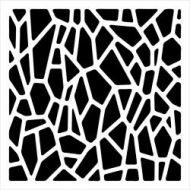Crafters Workshop Template 6 inch by 6 inch - Mini Giraffe Print