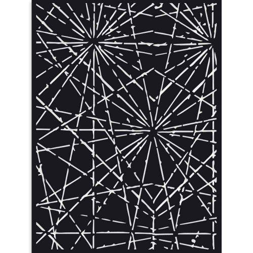 Thick Stencil 15 x 20 cm Sir Vagabond cracks Stamperia (KSAT12)