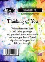 Thinking of You stamp by Visible Image