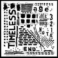 Timeless Stencil (S216) designed by Seth Apter for Stencil Girl (6 inch by 6 inch)