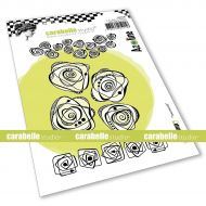 Tournicoti Cling Stamp A6 by Azoline for Carabelle Studio (SA60536)