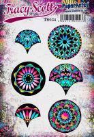 Tracy Scott TS034(Was ETS34) PaperArtsy Cling Rubber Stamp Set