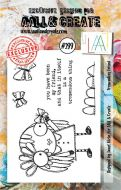 No. 299 Tremendous Friend Aall and Create A7 Stamp