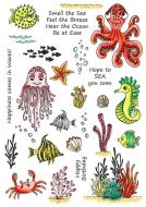 CS222D Hobby Art Stamps - Under the Sea