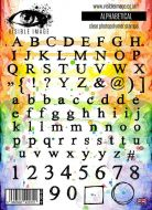 Alphabetical stamp set