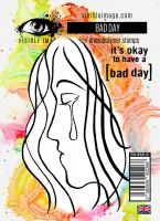 Bad Day stamp set by Visible Image