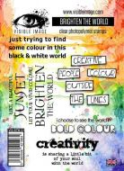Brighten the World stamp set by Visible Image (VIS-BTW-01)