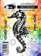 Create Your Calm seahorse stamp set