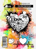 Follow your Heart stamp set by Visible Image (VIS-FYH-01)