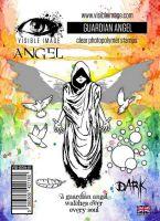 Guardian Angel stamp set by Visible Image (VIS-GDA-01)